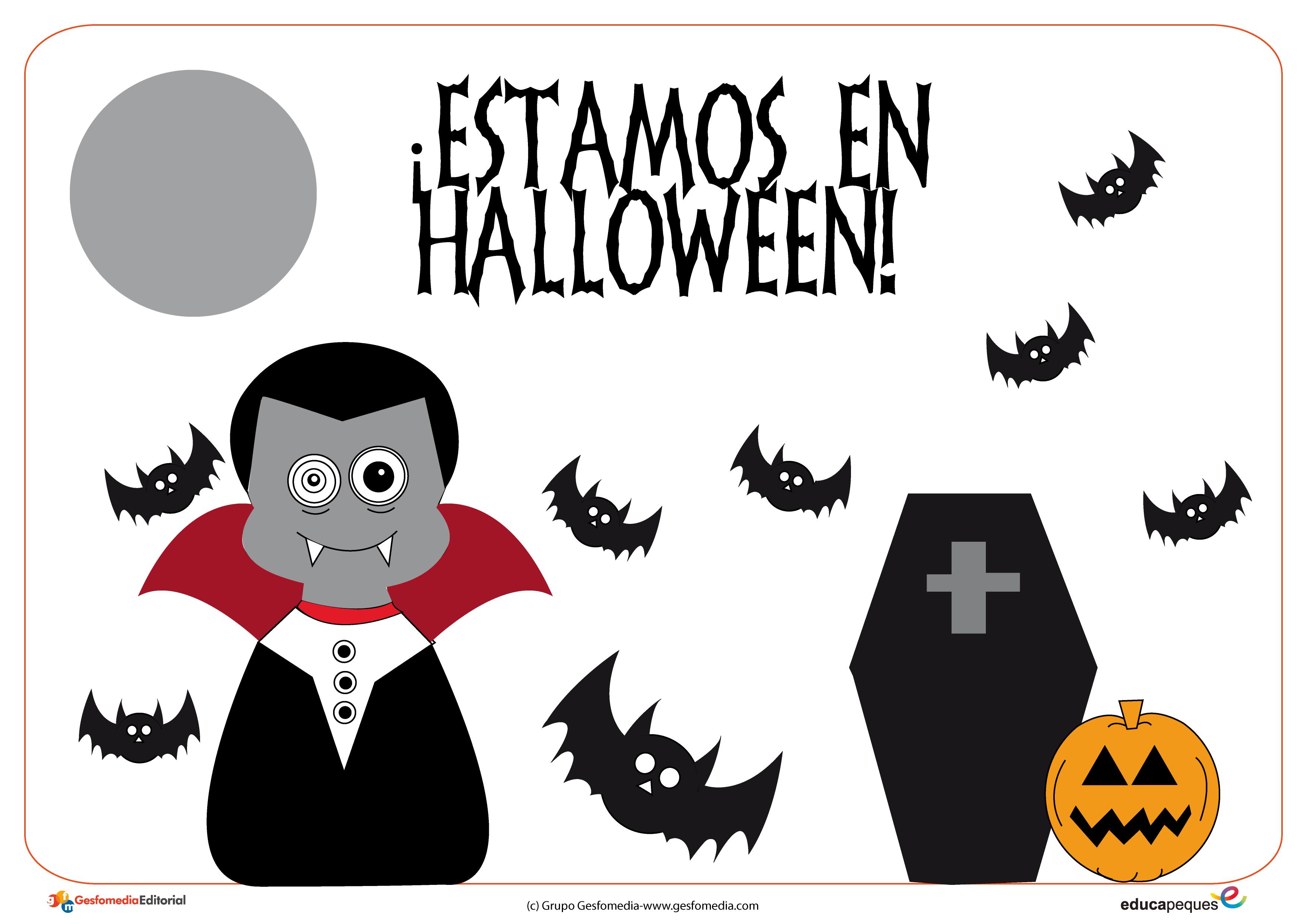 Fichas y actividades para Halloween