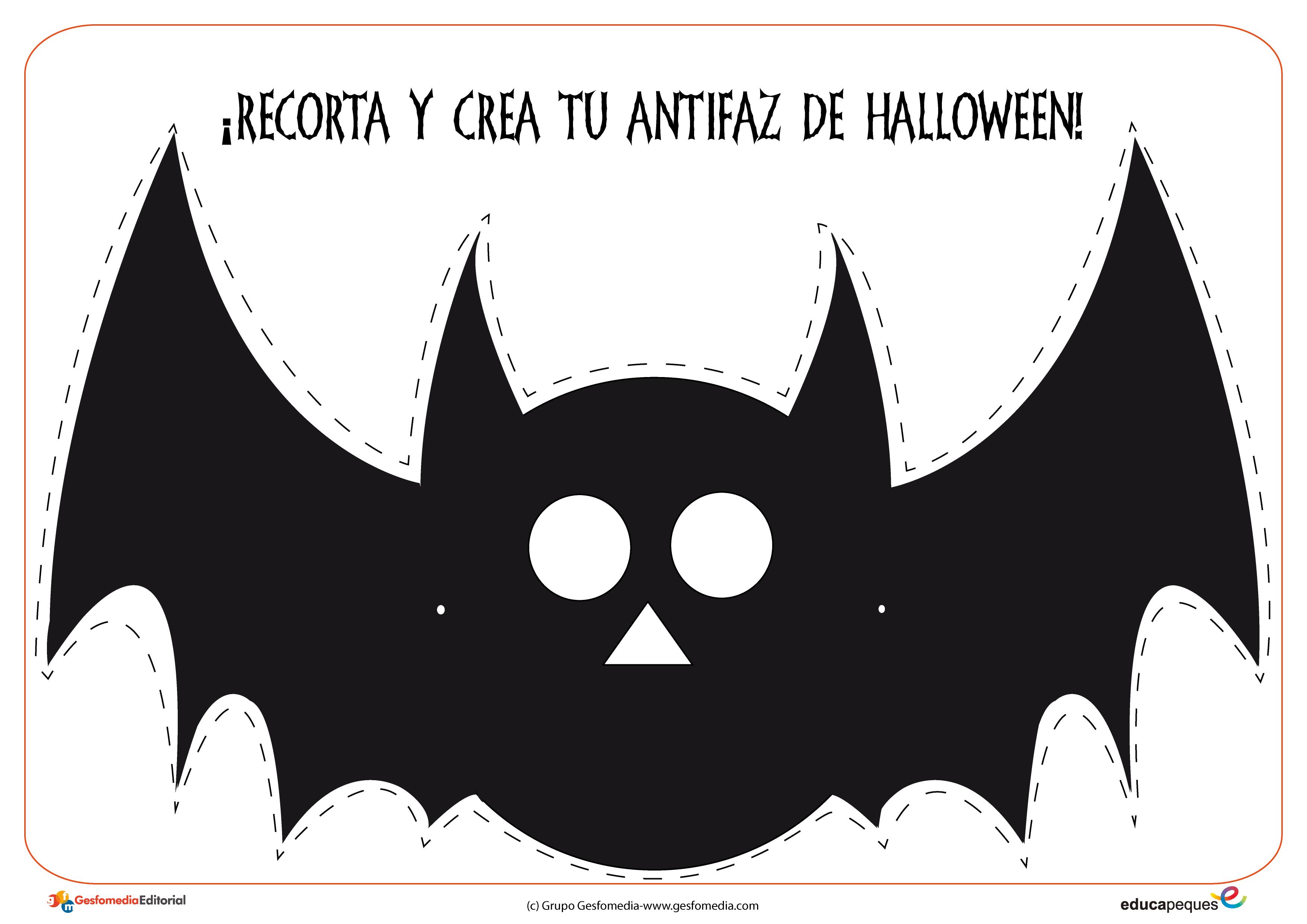 Fichas y actividades para halloween - Murcielagos para halloween ...
