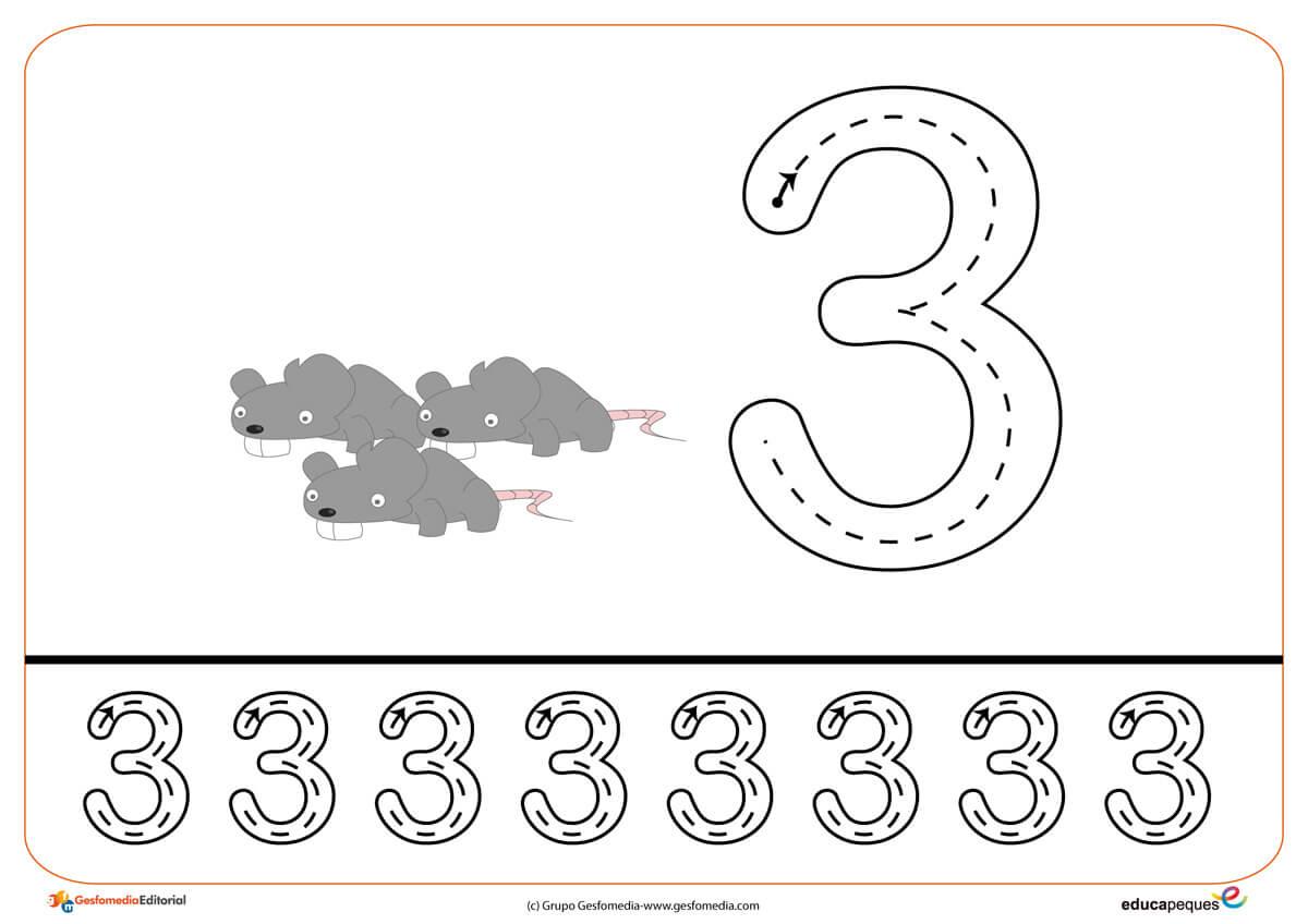 Grafomotricidad Con Números