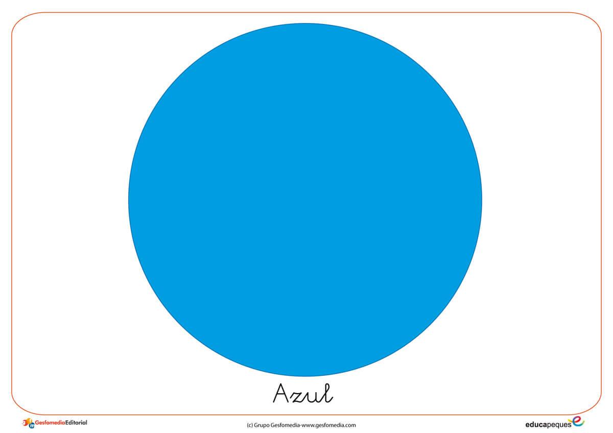 El Azul. Fichas para trabajar los - 31.2KB