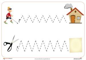 grafomotricidad, trazos