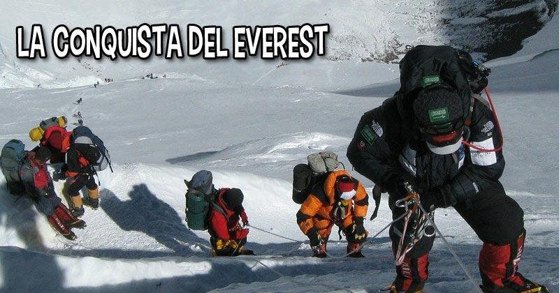 La conquista del monte Everest