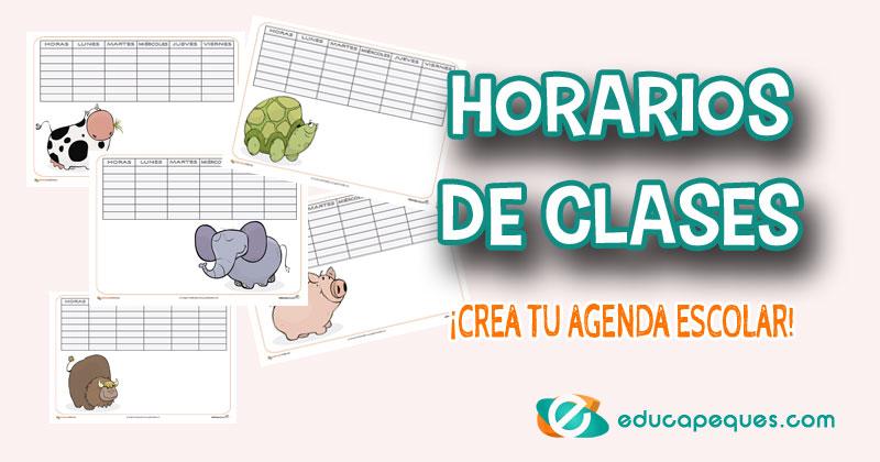horarios de clases