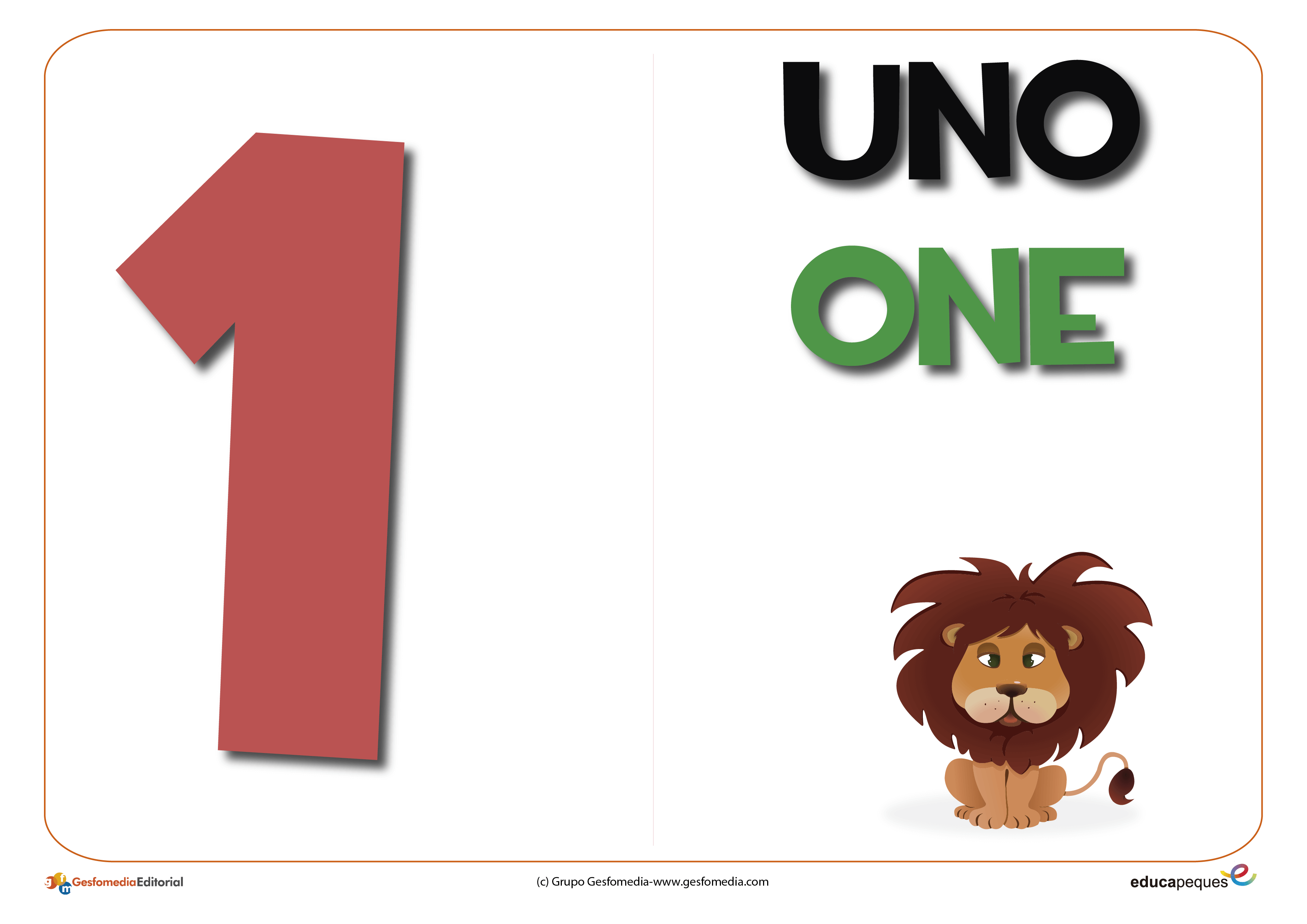 Los Números Del 0 Al 9