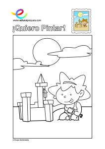 Dibujos Para Colorear 6 7 Años Soy Un Aprendiz De Pintor