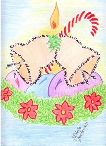 cuentos cortos, caligrama, nochebuena, navidad, cuentos niños, relatos niños