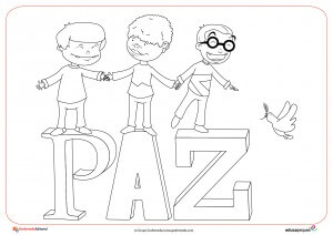 Día De La Paz Fichas De Dibujos Para Colorear Del Día De La Paz