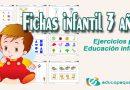 Fichas infantil 3 años ➡➤ Actividades para el aula de Infantil