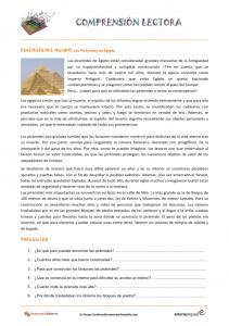 Fichas De Comprensión Lectora Para Primaria Educapeques