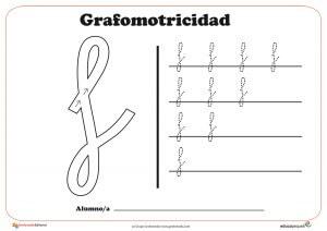 """Ficha de grafomotricidad con la letra """" f"""""""