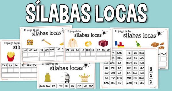 Sílabas Locas Juego Para Ampliar El Vocabulario De Los Niños Y Niñas