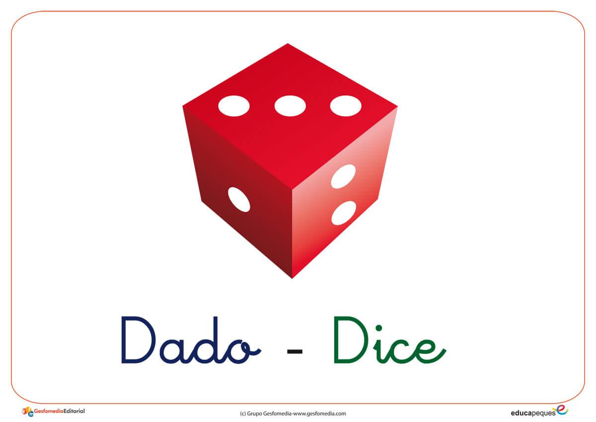 Vocabulario con la letra D