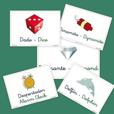 Vocabulario letra D