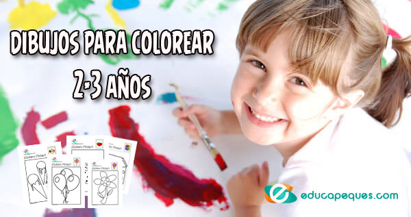 Dibujos Para Colorear 2 3 Años Facilito Por Favor Estoy