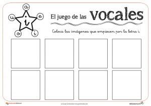 Juego De Las Vocales Aprende Vocabulario De Forma Divertida