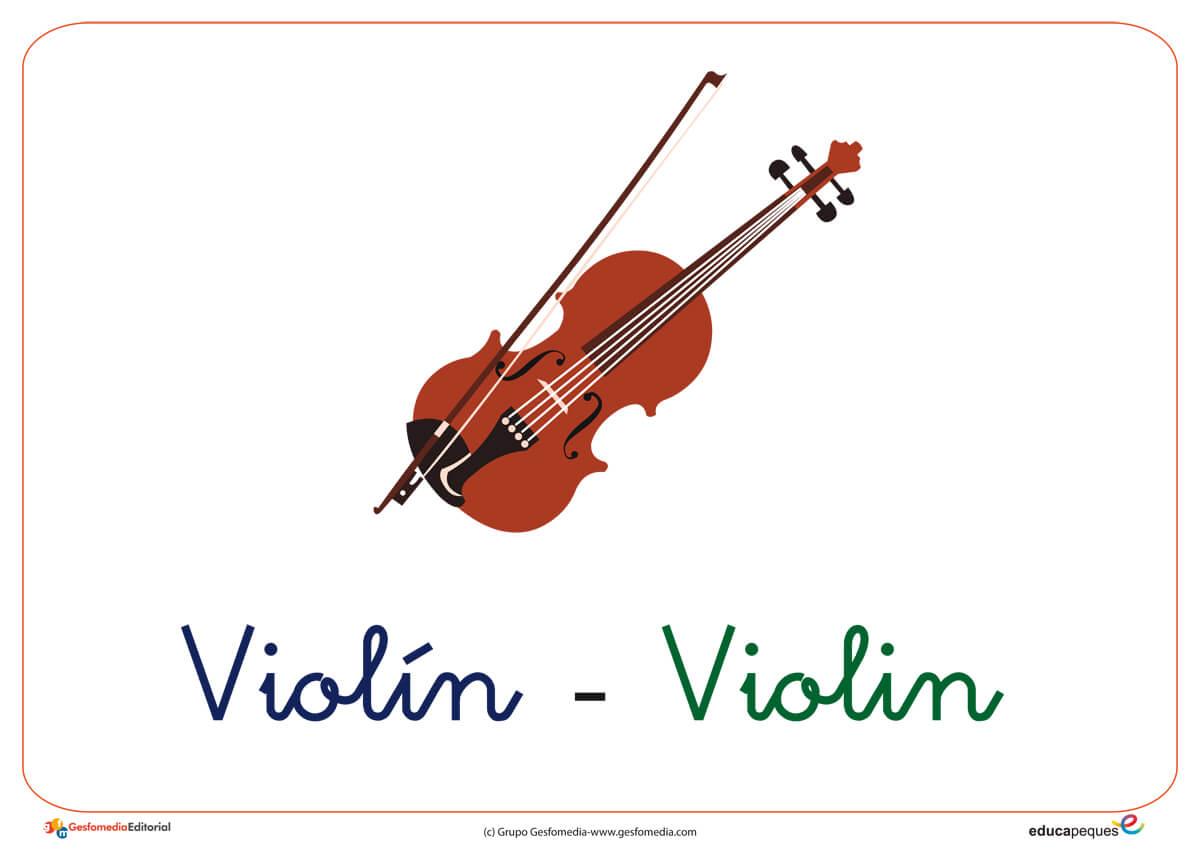 Vocabulario en imágenes: Letra V