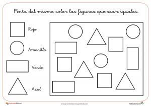 Fichas de Infantil. Ejercicios para educación infantil