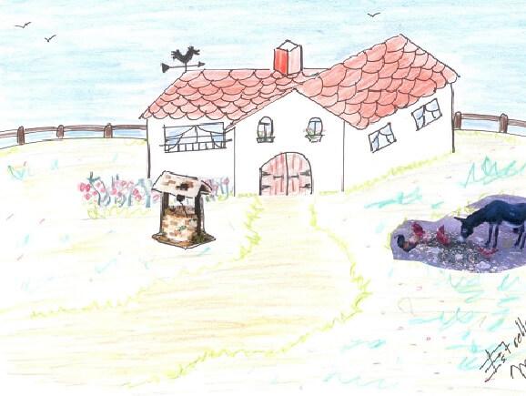"Poema infantil: ""Una casita"""
