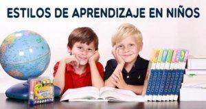 estilos de aprendizaje