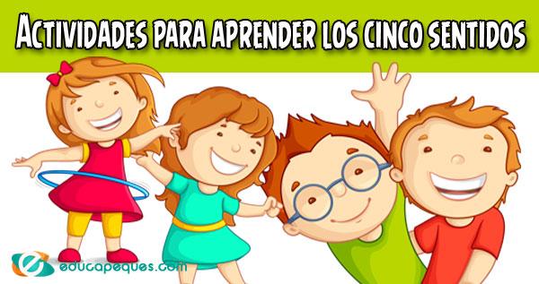 Actividades de los cinco sentidos para niños de primaria