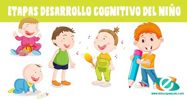 Desarrollo Cognitivo En Los Niños Etapas Del Desarrollo Del