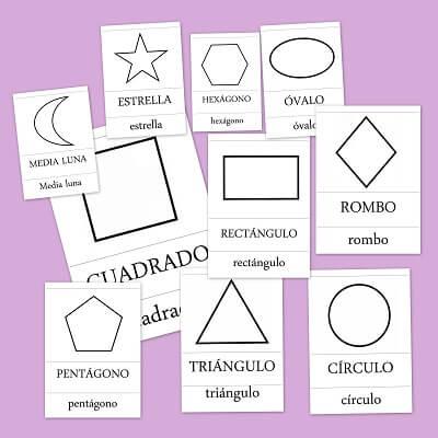 Formas y figuras geom tricas b sicas para ni os de primaria for Cuadros con formas geometricas