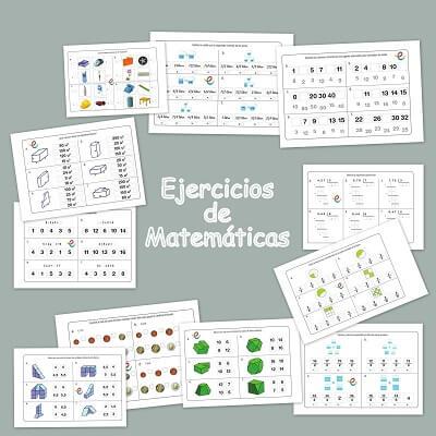 Matemáticas ejercicios para niños de 9-11 años
