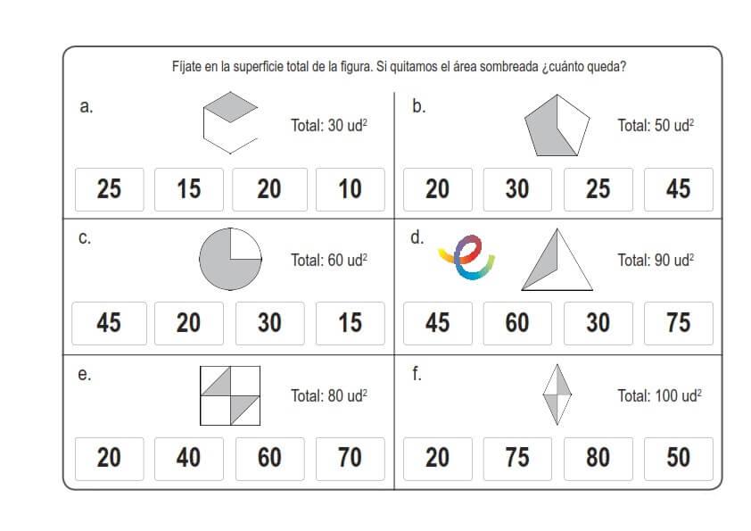 Matemáticas Ejercicios Para Niños De 9 11 Años