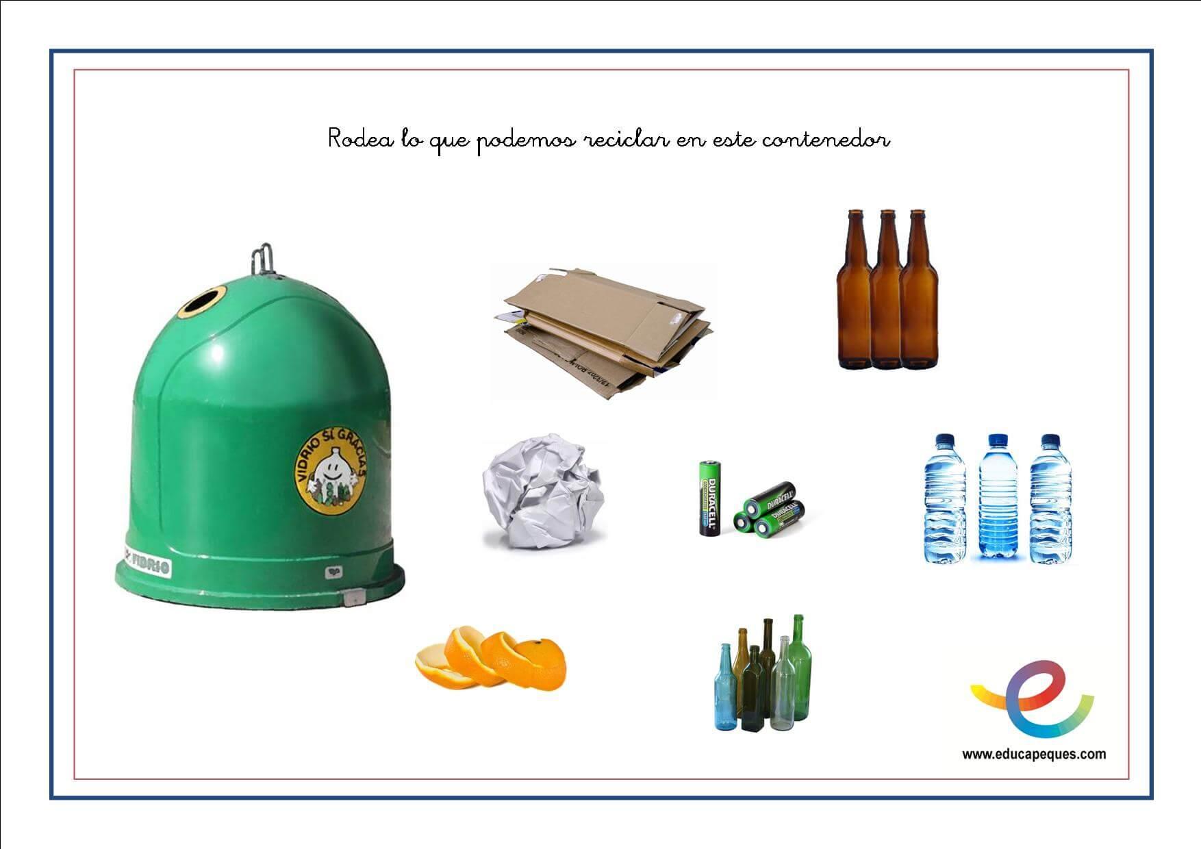Reciclaje Para Niños Actividades Para Enseñar A Reciclar