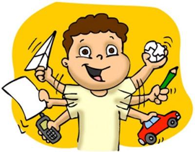 Resultado de imagen de fotos niños hiperactivos