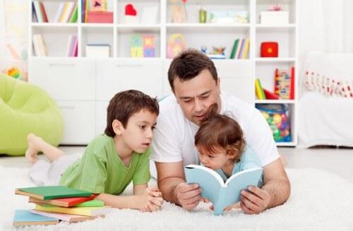 Leer cuentos a los niños
