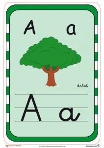 Tarjetas Para Aprender El Abecedario Y Repasar Las Letras
