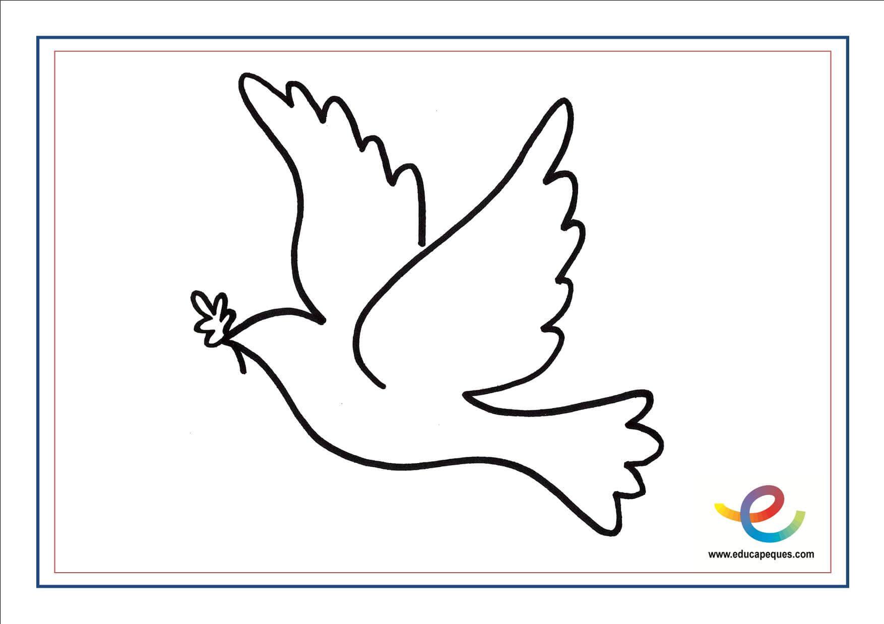 Juego educativo: La paloma de la Paz