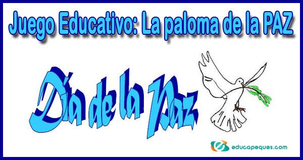 Juego De La Paz Y La No Violencia La Paloma De La Paz
