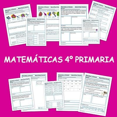 Matemáticas 4º Primaria