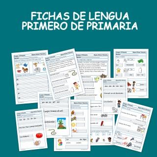Fichas De Lengua Para Primero De Primaria 6 7 Anos