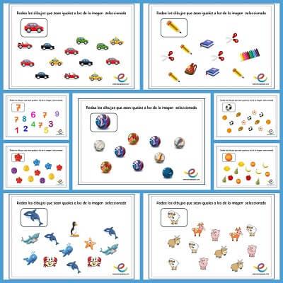 Estimular Atención en niños de 3 años
