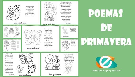 Poemas de primavera