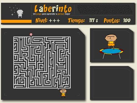 Laberintos Juegos Educativos Para Mejorar La Atencion Infantil