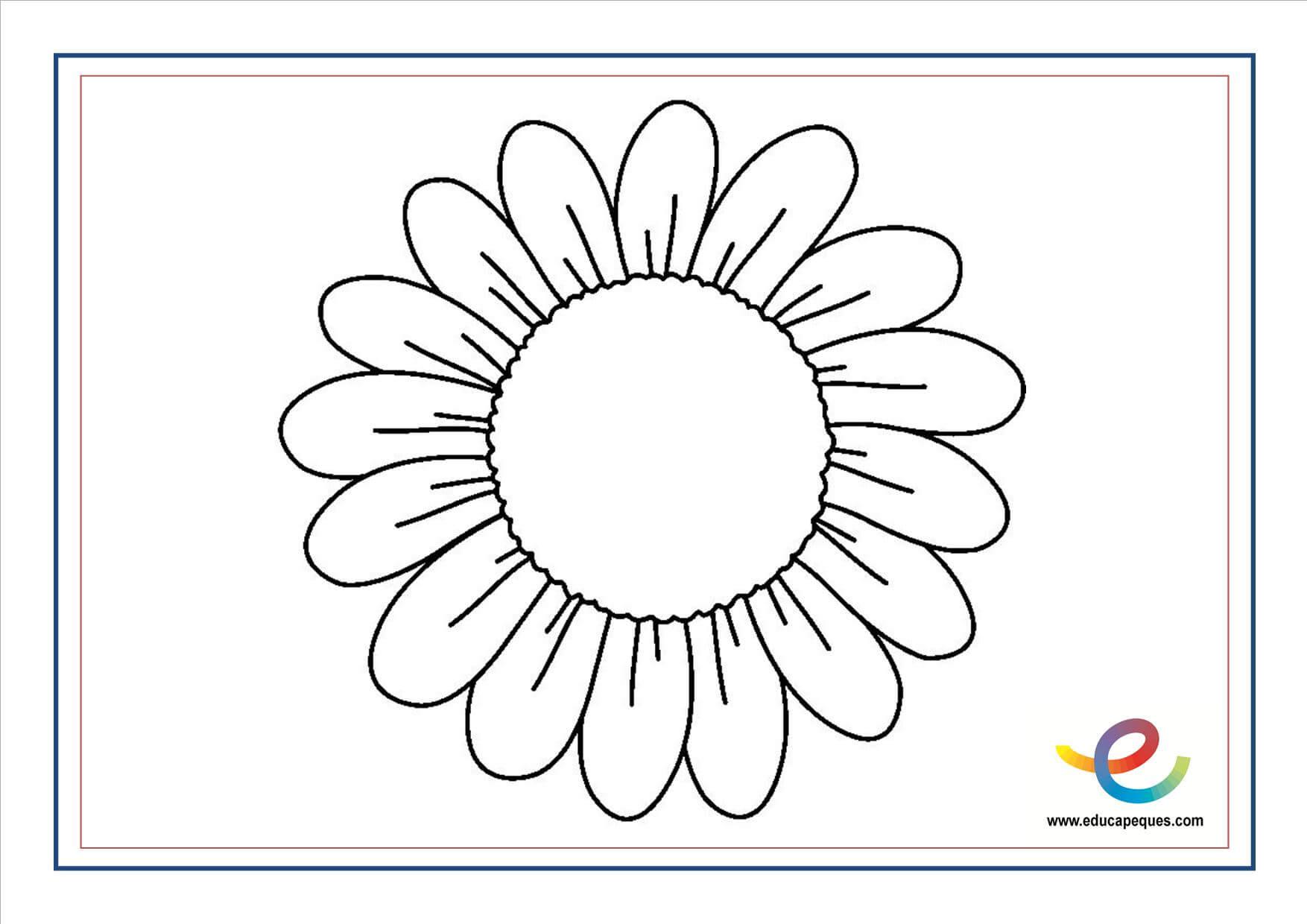 Bonito Flores De Primavera Para Colorear Páginas Para Niños Galería ...
