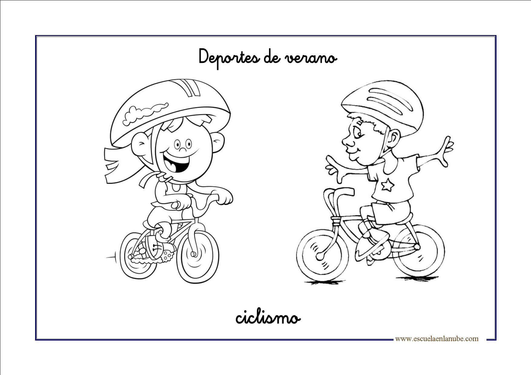 Dibujos Del Verano Para Colorear. Perfect Dibujos Para Colorear ...