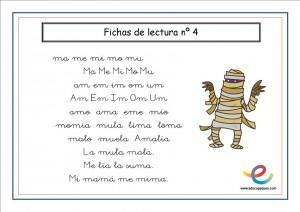 Cartilla De Lectura Para Infantil Y Primaria Educapeques