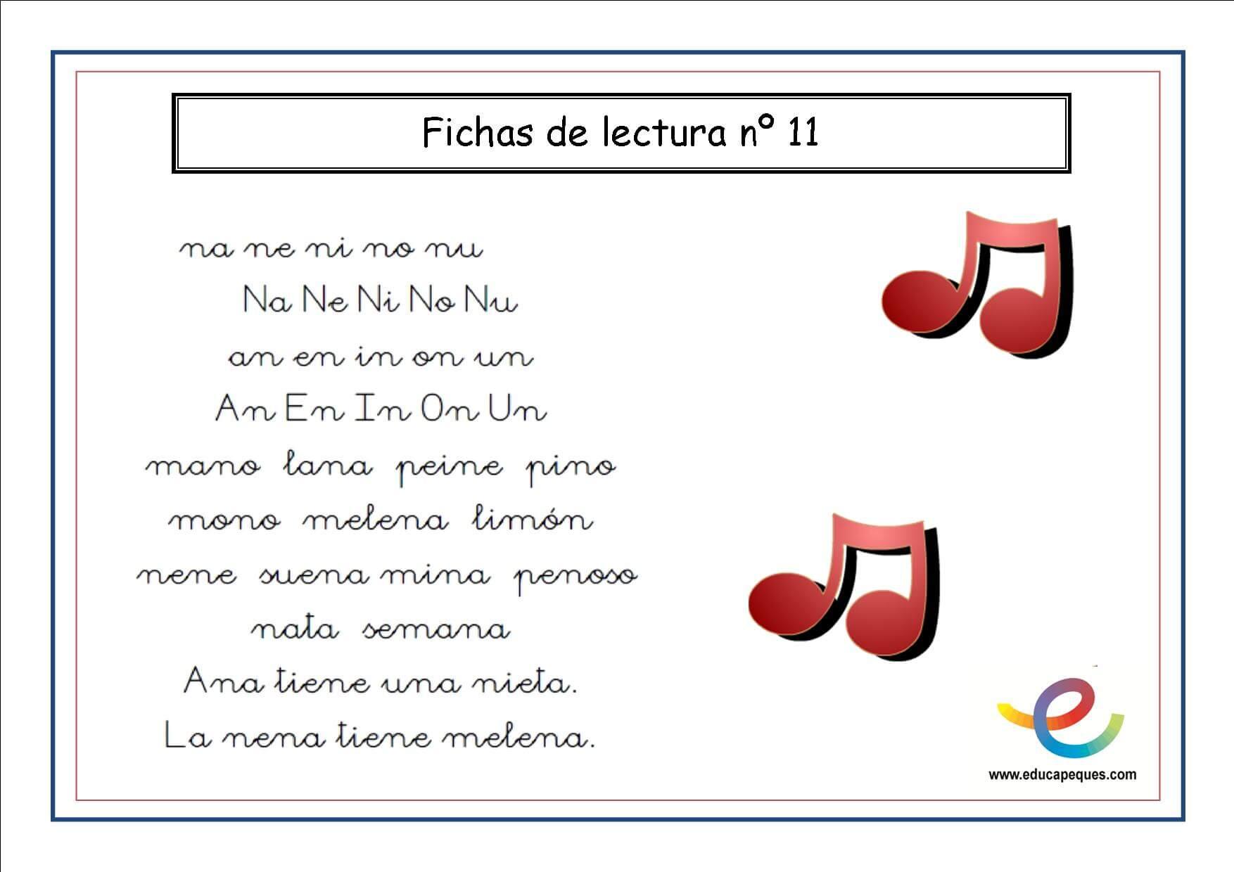 Cartilla De Lectura Infantil: Cartilla De Lectura 12