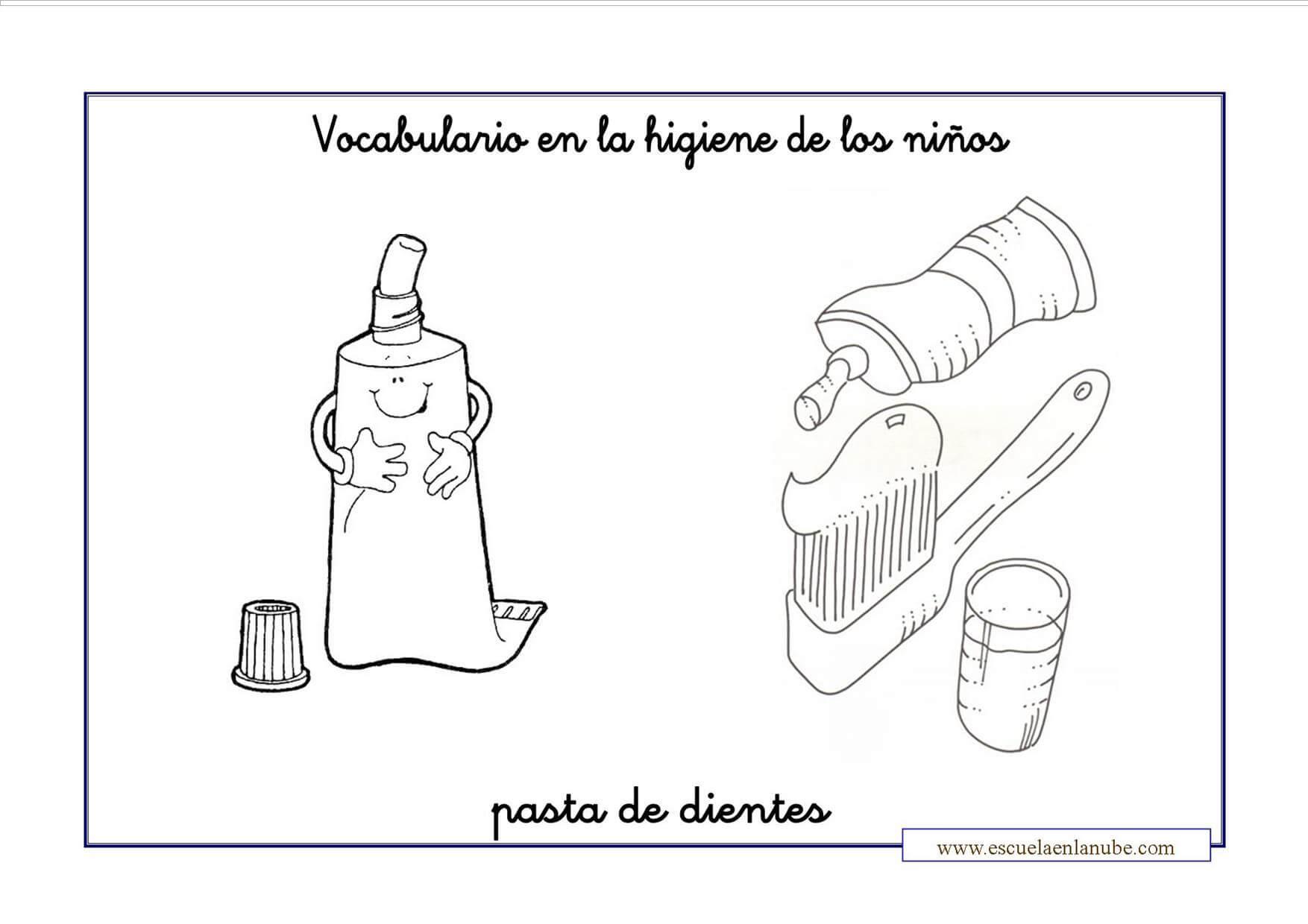 92+ ideas Dibujo De Pasta De Dientes Para Colorear on ...