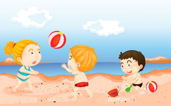 poesia infantil feliz verano