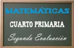 Matemáticas Cuarto Primaria 2