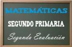 Matemáticas Segundo Primaria 2