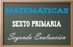 Matemáticas Sexto Primaria 2