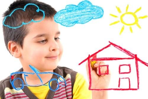 significado dibujo infantil