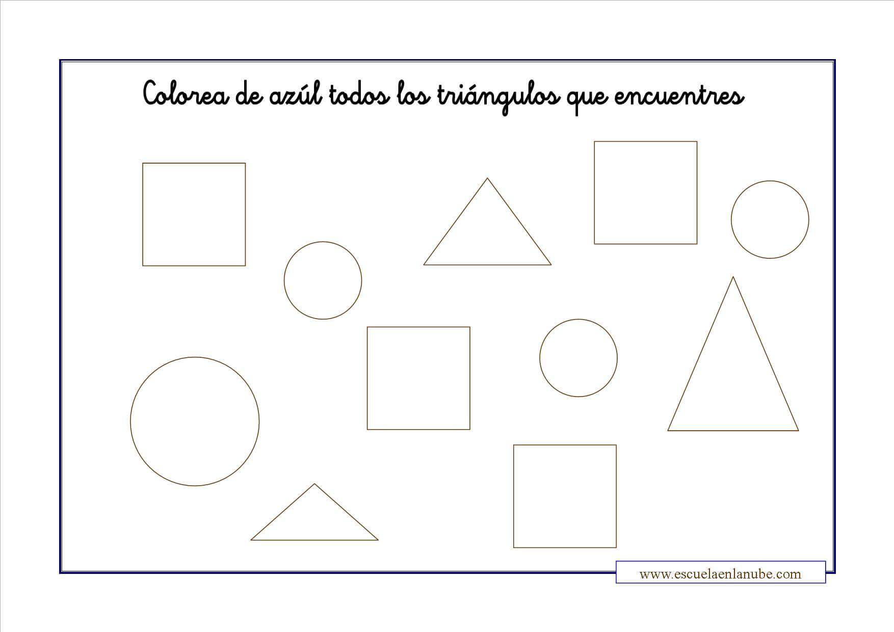 Trabajar las formas geom tricas con estas fichas para primaria for Las formas geometricas